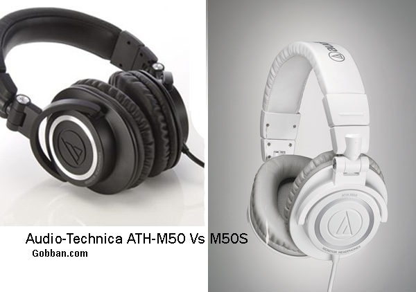 Audio-Technica ATH-M50 Vs M50S