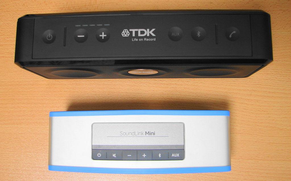 TDK A33 VS Bose Soundlink Mini