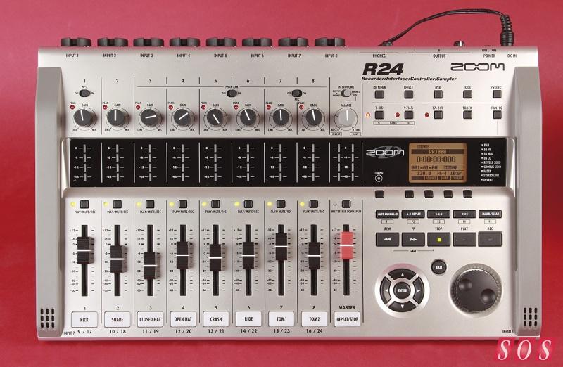 Zoom R16 Vs R24