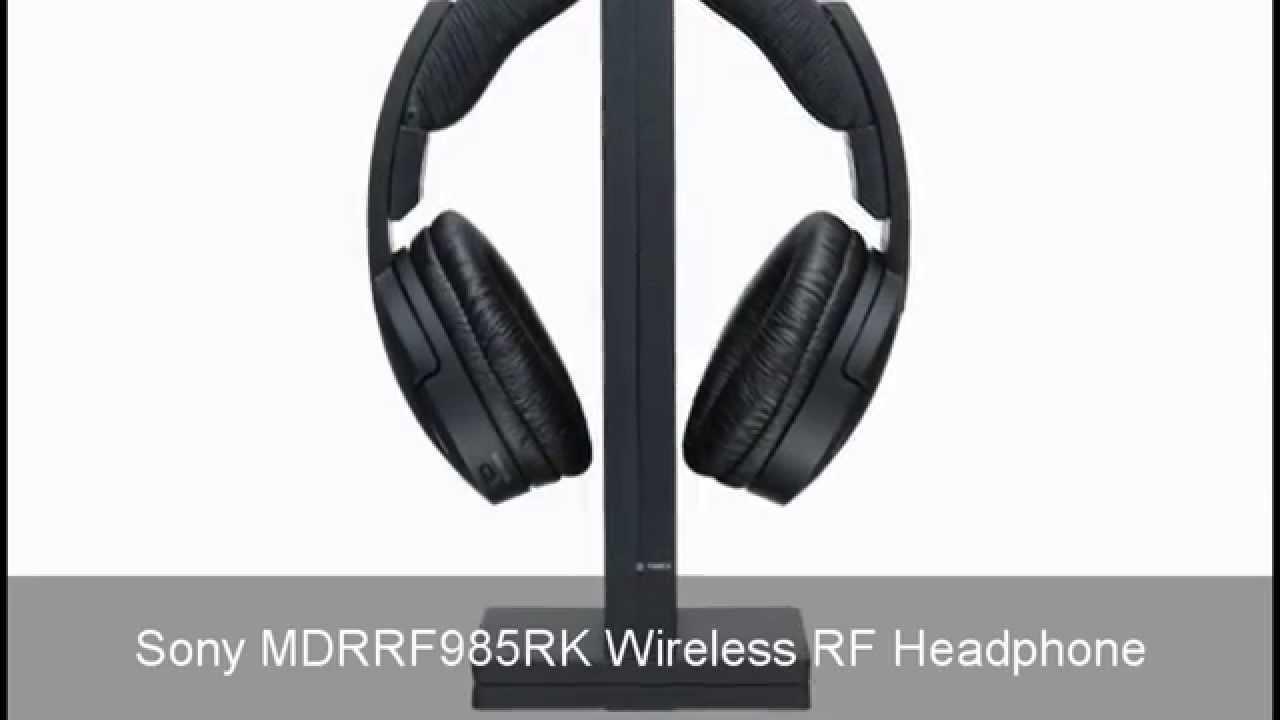 Sony MDRRF985RK Vs Sennheiser RS120