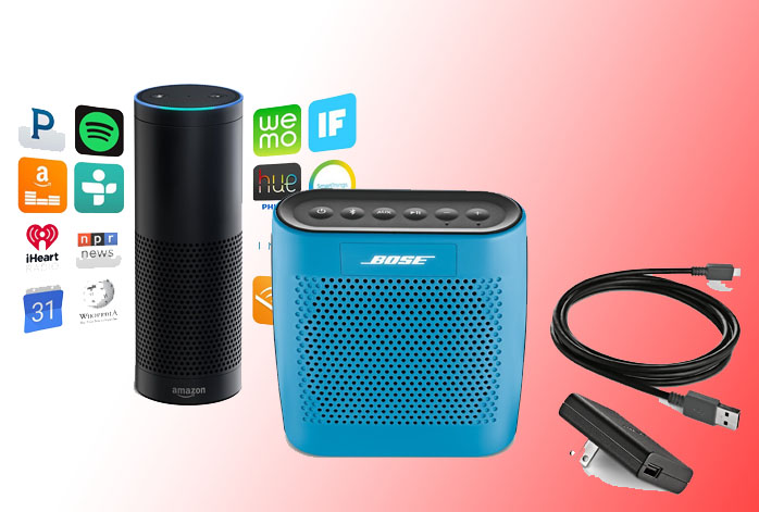 Amazon Echo Vs Bose SoundLink Color