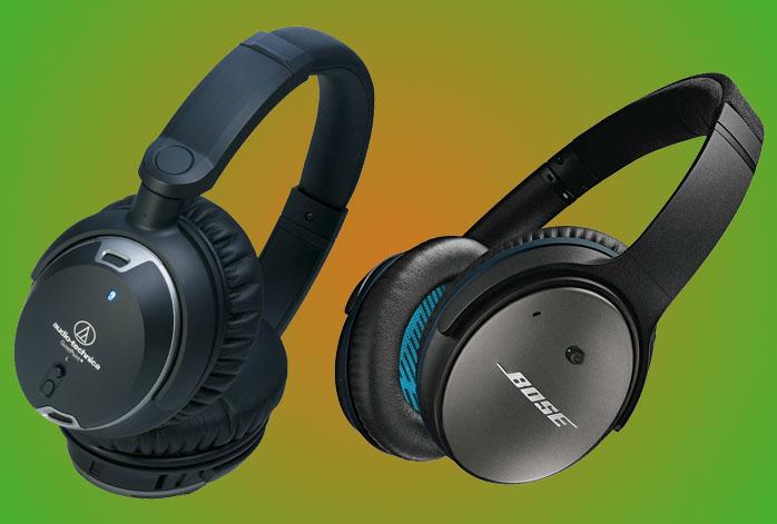 Audio Technica ATH-ANC9 Vs Bose QC25