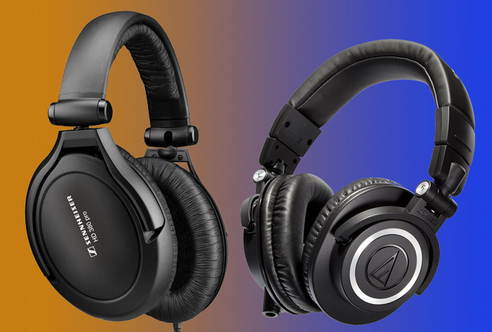 Sennheiser HD 380 Pro Vs Audio Technica ATH-M50X