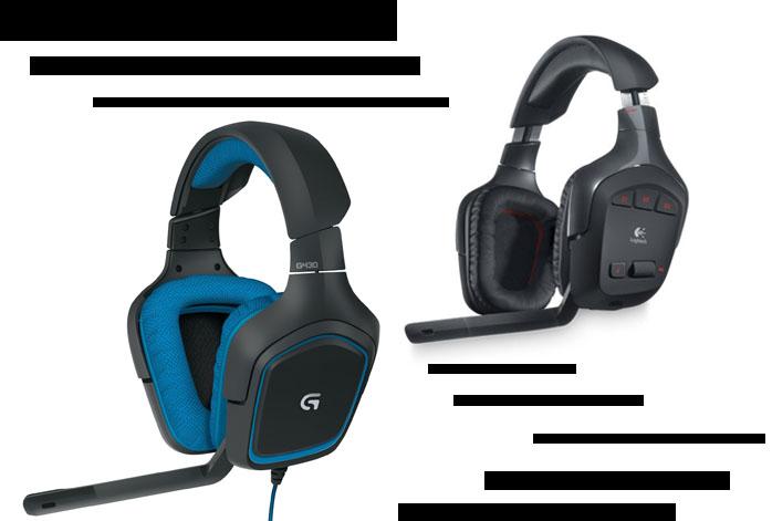 Logitech G930 Vs G430