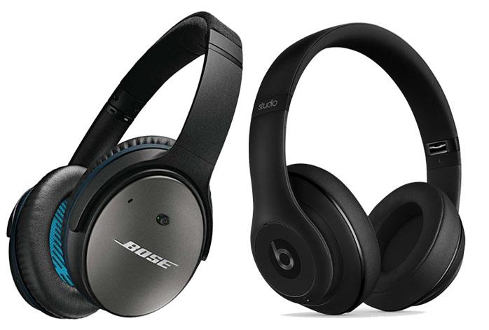 Bose QuietComfort 25 Vs Beats Studio