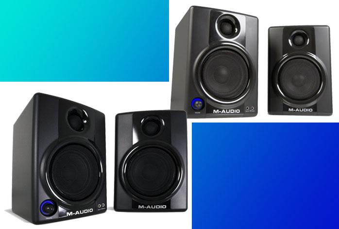M-Audio AV30 Vs AV40