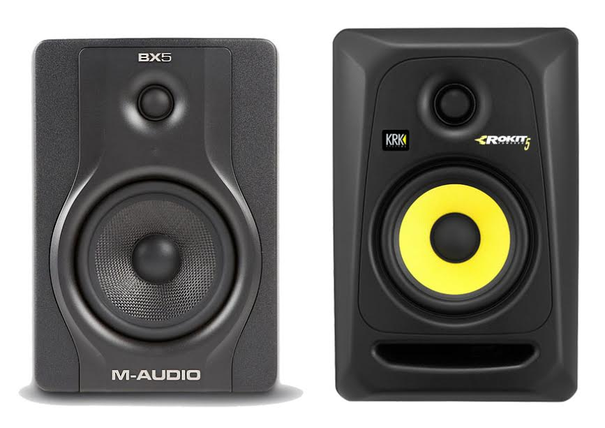 m-audio-bx5-vs-krk-rokit-5