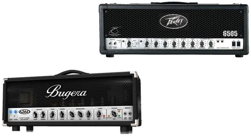 Bugera 6260 Vs Peavey 6505