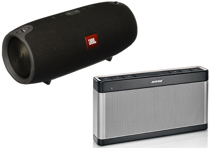 jbl xtreme vs bose soundlink 3. Black Bedroom Furniture Sets. Home Design Ideas