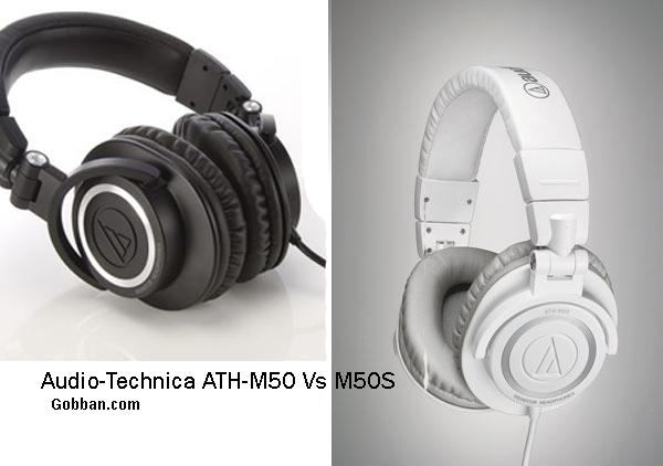 Audio-Technica ATH-M50 Vs M50S