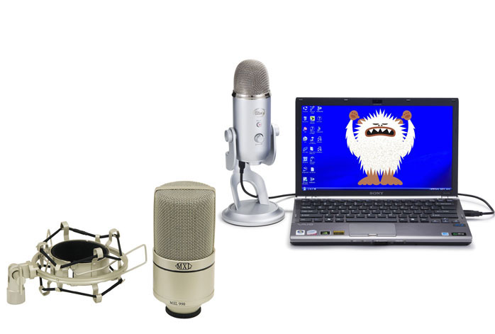 MXL 990 Vs Blue Yeti