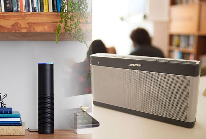 Amazon Echo Vs Bose SoundLink III
