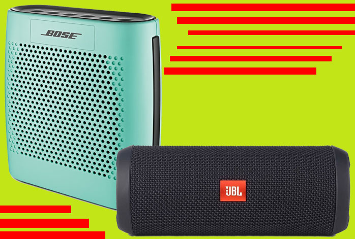 Bose SoundLink Color Vs JBL Flip 3