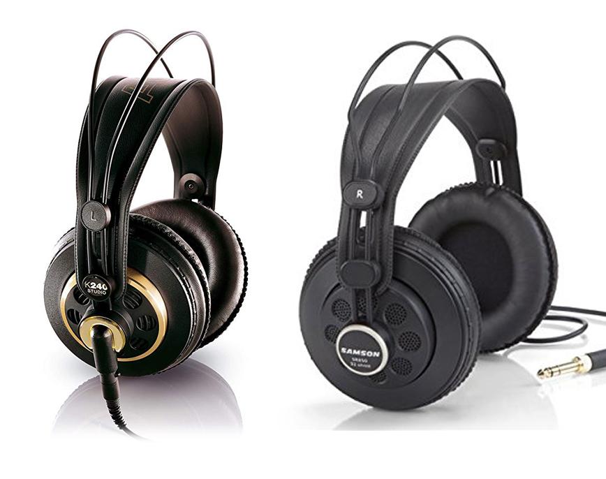 get online picked up recognized brands AKG K240 Studio vs Samson SR850 - What to choose?